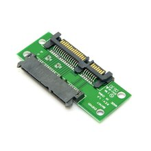 "100pcs / lots 3.5"" & 2.5 inch SATA 22Pin 7+15 Male to SATA 22P Female Extension Convertor Adapter PCBA ,By UPS DHL"
