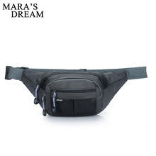 Mara's Dream Waist Pack Men Women Waist Bag Fanny Chest Bag Bolsa Masculina Mujer Bum Bag Hip Money Belt Travel Mobile Phone Bag