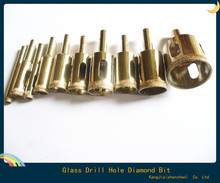 10 Diamond Coated Core Drill Bit Tile Marble Glass Ceramic Hole Saw Set 6mm-30mm