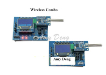 Industrial device level 433M wireless module digital transmission module SI4463 STM8L development kit(China)