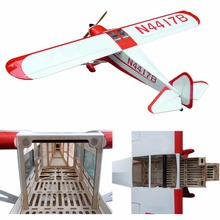 "Electric plane Taylorcraft-90 87.4"" 6 Channels ARF Large Scale Balsa RC Model Airplane"