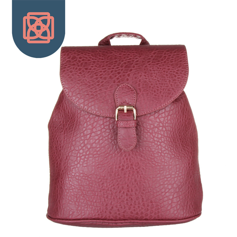 Stylish Bookbag Pebble Faux Leather Womens Backpack High Quality School Bags for Girls Travel Bag Retro Rucksack<br><br>Aliexpress