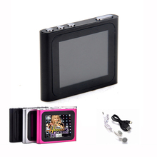 "Hot sale 1.8"" Screen MP4 Player Multi Lanuages Support TF Card Music AMV Mp4 Player Recorder FM Radio Photo Review E-book(China)"