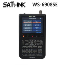 [Genuine] Satlink WS-6908SE satellite meter 6908se Support KB-LIGHT & BACKLIGHT satellite finder ws 6908se Satlink ws6908se
