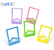 CAIUL Plastic photo frame for Hiti Pringo P231/P232 photo printer paper 3 inch L shape photo frame colorful photograph frame