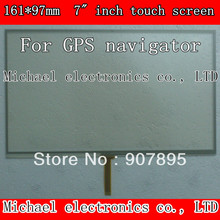 164X97mm 7inch 4 Wire Resistive Touch Screen Panel /Digitizer GPS navigator MP4 Tablet PC MID Noting size and color