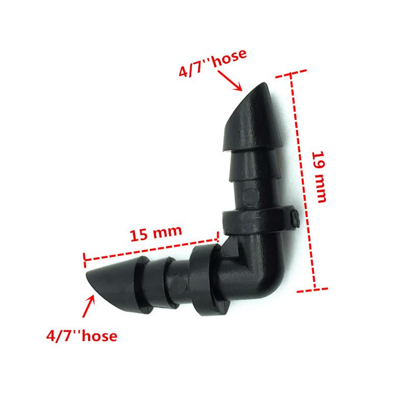 HTB1uC dKXXXXXauXXXXq6xXFXXXj - 1 Sets Fog Nozzles irrigation system - Automatic Watering 10m Garden hose Spray head with 4/7mm tee and connector