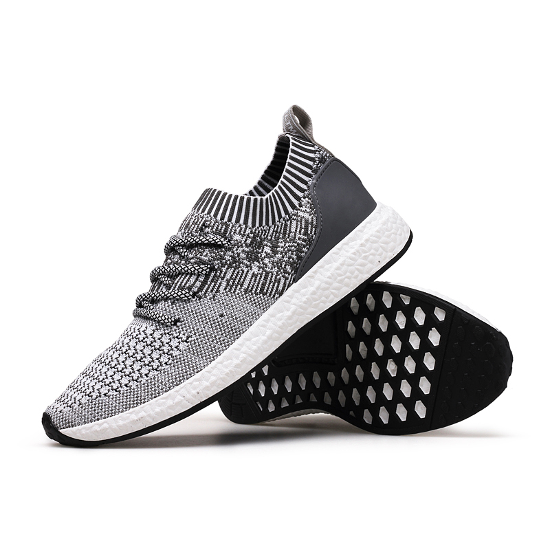 2017 Spring Autumn Casual Shoes For Men Breathable Stretch Fabric Zapatillas Hombre Fly Woven Slip On Outsole Men Causal Shoes<br><br>Aliexpress