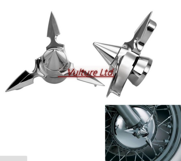Front Axle Spun Blade Spinning Caps For Harley Softail Electra Glide Sportster<br><br>Aliexpress