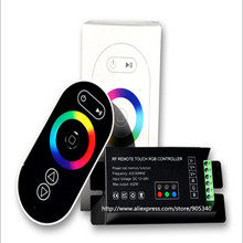 RF remote touch RGB led controller 18A  led strip controller ,rgb led driver,touch dimmer,wireless controle ,controlador GT888