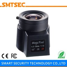 "HD 5MP 4.5-10mm Varifocal DC AUTO IRIS Lens 1/2"" F1.6 CS Mount Lens for HD IP CCTV Camera(China)"