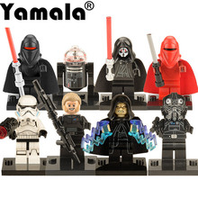 [Yamala] 1PC Star Wars Kallus R5D4 Robot Count Dooku Darth Vader Darth Maul Building Blocks Toy Compatible  Legoingly  starwars