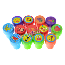 36PCS Self-ink Stamps Kids Party Favors Event Supplies for Birthday Gift Boy Girl Goody Bag Pinata Fillers Fun Stationery