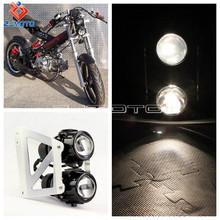 Motorcycle Streetfighter Headlight Projector Assembly Lamp For Sachs Madass Dual Sport Motorcycle Dirt Bikes Gokarts Motorcycle