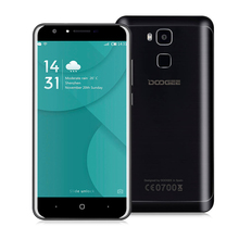 Doogee Y6 Cellphone 5.5 Inch MT6750 Octa Core 4G Mobile Phone 2GB RAM 16GB ROM Android 6.0 3200mAh Fingerprint 13.0MP Smartphone
