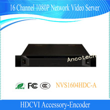 DAHUA Encoder 16 Channel 1080P Network Video Server Support TV/VGA/HDMI Without Logo NVS1604HDC-A(China)