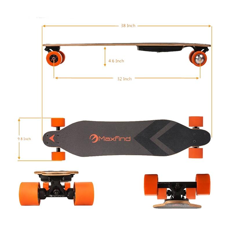 wireless electric skateboard