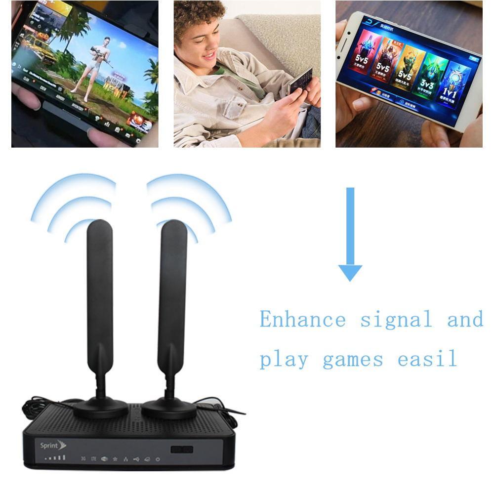 2Pcs 4G LTE Antenna Booster TS9 Connector 5dBi For HUAWEI E8372 E3372 E5776**