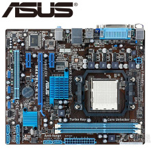 Asus M4A78LT-M LX Desktop Motherboard 760G 760L Socket Socket AM3 DDR3 16G U ATX UEFI BIOS Original Used Mainboard On Sale(China)