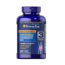 American origin Double Strength Glucosamine, Chondroitin & MSM Joint Soother-480 Caplets(China)