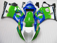 For SUZUKI GSX-R1000 Green K3 03 04 GSX R1000 K3 GSXR 1000 2003 2004 GSXR1000 Fairing Kit