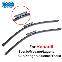 OGE windshield wiper blade for Renault Scenic/Laguna/Megane/Espace pair 24''+29'' ,soft rubber windscreen brush accessaries