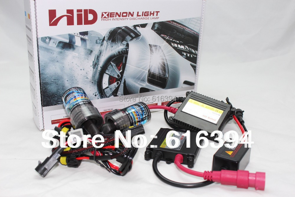 SUPER 35W Slim XENON HID KIT single lamp kit H1 H3 H7 H8 H10 H11 9005 9006 Free Shipping<br>