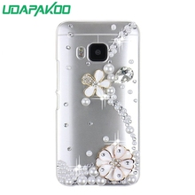 Hard phone case Luxury Diamond Crystal 3D case for HTC Butterfly 2/10 Lifestyle/10 pro/10 EVO/U Play Alpine/ONE E8/610(China)