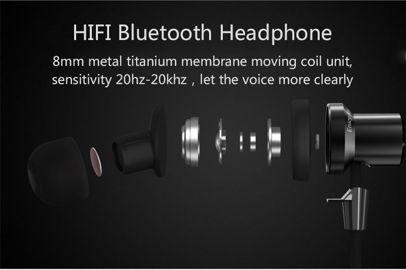 Remax S7 Sport Bluetooth Headphone HIFI Earphone Magnetic Earbuds Stereo Wireless Headset for Iphone 8 7 Mobile Phone With Mic