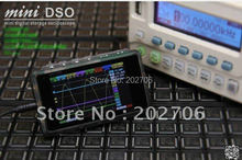 DS203 minidso pocket oscilloscope DSO quad stm32 open source suite oscilloscope host metal shell