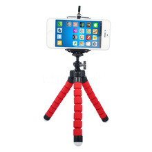 Phone Flexible Octopus Tripod Bracket Mount + phone holder phone stand camera tripod and mobile phone clip