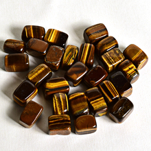 100g  Natural tiger eye Tumbled Stone Healing Reiki Crystal Chakra Home Decor Garden Flower Decorative Irregular Stone