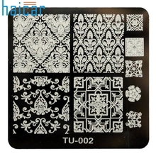 Pattern DIY Nail Art Image Stamp Stamping Plates Manicure Template   6616