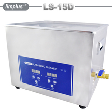 Limplus 15liter Cheap Ultrasonic Cleaner Industrial Ultrasonic Cleaning Machine with CE For Electronic Accessories Ornaments