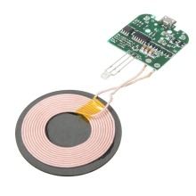 DC 5V Qi Standard Wireless Phone Charger PCBA Circuit Board With Coil Wireless Charging Micro USB DIY For Samsung Smartphones