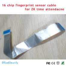 Original ZK software time attendance replacement parts and accessories supplies fingerprint reader head cable 16 chip(China)