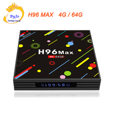 Buy H96 MAX 4G RAM 64G ROM Android 7.1 smart TV box 2.4G 5G WIFI Rockchip RK3328 Quad-core Support H.265 UHD BT 4K for $84.15 in AliExpress store