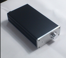 QUEENWAY 1105 Full Aluminum Chassis MINI Audio box/ power amplifier /AMP case 114mm*50mm*210mm 114*50*210mm