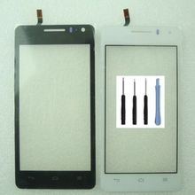 Free Shipping Replacement Touch Screen Glass Digitizer For Huawei U8950 U8950D G600 Sensor Touchscreen Front Glass With Logo