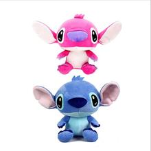 1pc 20cm Super Cute Lilo and Stitch Plush Toys Doll Lovely Stitch Toys for girls and boys Plush Animals toy gifts(China)