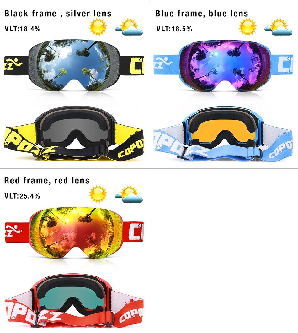 magnetic ski goggles 10