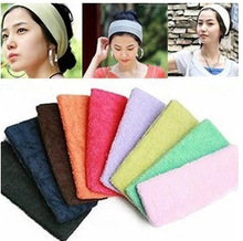 21 color can mix! HOT NEW Sport hair rope Stretch Hair Bands dance Headbands accessories  . 12pcs/lot! Free shipping!