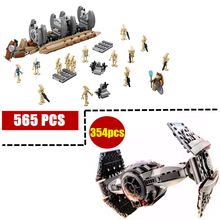 10374 NEW Star Wars Battle Droid Troop Carrier model Building Blocks kid Toys Gifts figure Boys compatible with 75086