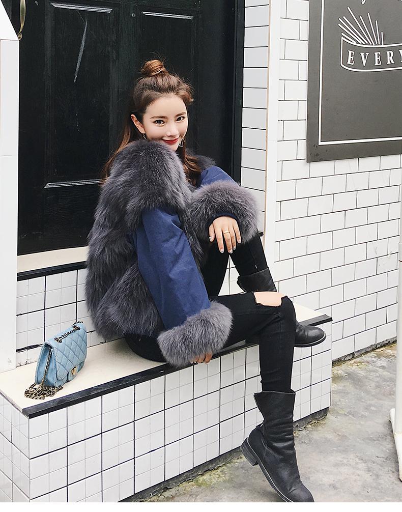 new styles fox fur jacket for women (11)