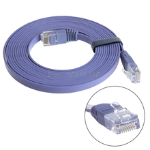 RJ45 Network Cable Cat6e Ethernet LAN  Internet Cable Cord Lead  For PC Laptop 1/2/3/5/10/15/20/25/30M High Speed -R179