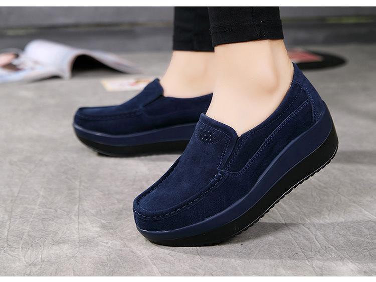 HX 3213 (14) Autumn Platforms Women Shoes