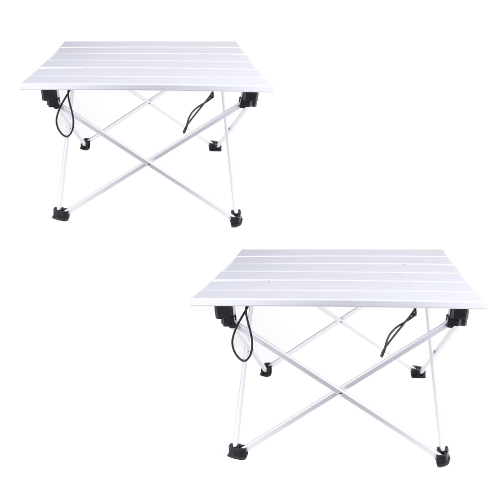 Portable Folding Aluminum Rolling Table with Bag for Camping Picnic FE5#<br><br>Aliexpress
