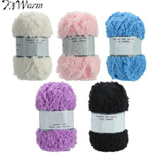 1PC Soft Warm Fabric Cotton Hand knitted Cashmere Yarn Wool Knitting Yarn Threads For Baby Scarf Coat Sweater Knitting(China)