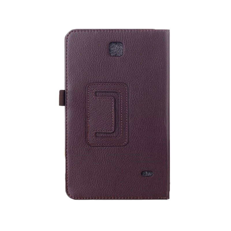 SM-T231 SM-T230 Litchi PU Leather Flip Case Cover For Samsung Galaxy Tab 4 7.0 T230 T231 T235 Stand Cases 7 inch Tablet