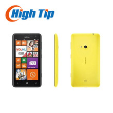Unlocked Nokia Lumia 625 Original  Mobile phone 4.7 inch Touch screen Dual core GPS WIFI 3G 4G network free shipping refurbished
